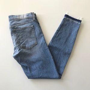 {elizabeth & james textile} deb skinny fray jean